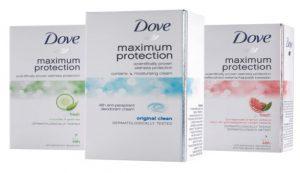 Maksimalna zaštita protiv znojenja uz Dove i Rexonu