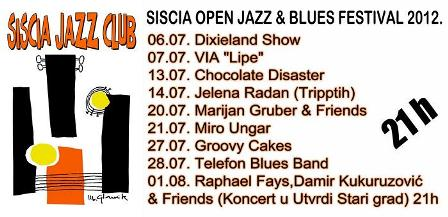 Siscia open jazz & blues festival