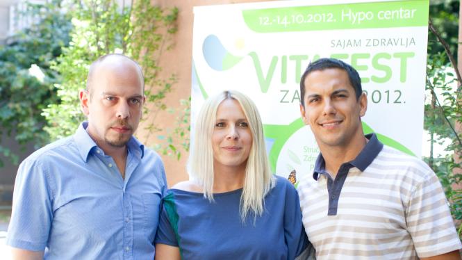VITAFEST – prvi sajam zdravlja i zdravog života u Zagrebu, Hypo centar, 12. – 14.10.2012.