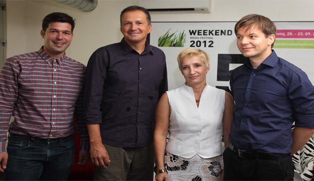 Pet godina Weekend Media Festivala