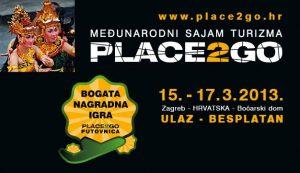 PLACE2GO – 2. MEĐUNARODNI SAJAM TURIZMA u Zagrebu