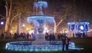 Prggin osvijetlio park Zrinjevac u Zagrebu