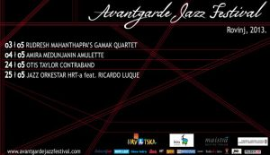 3. Avantgarde Jazz Festival – Rovinj 2013.