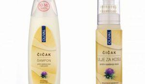 OLIVALOV šampon i ulje protiv opadanja kose i suhe peruti